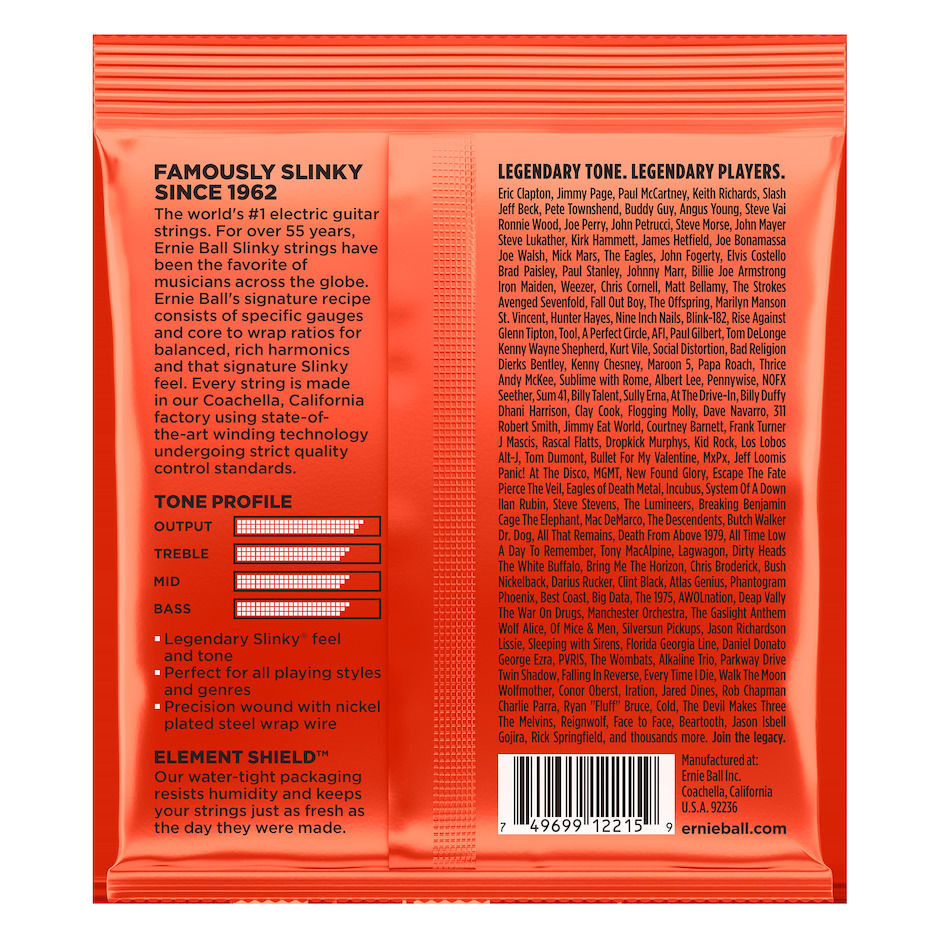 Ernie Ball EB-2215 SKINNY-TOP HEAVY-B