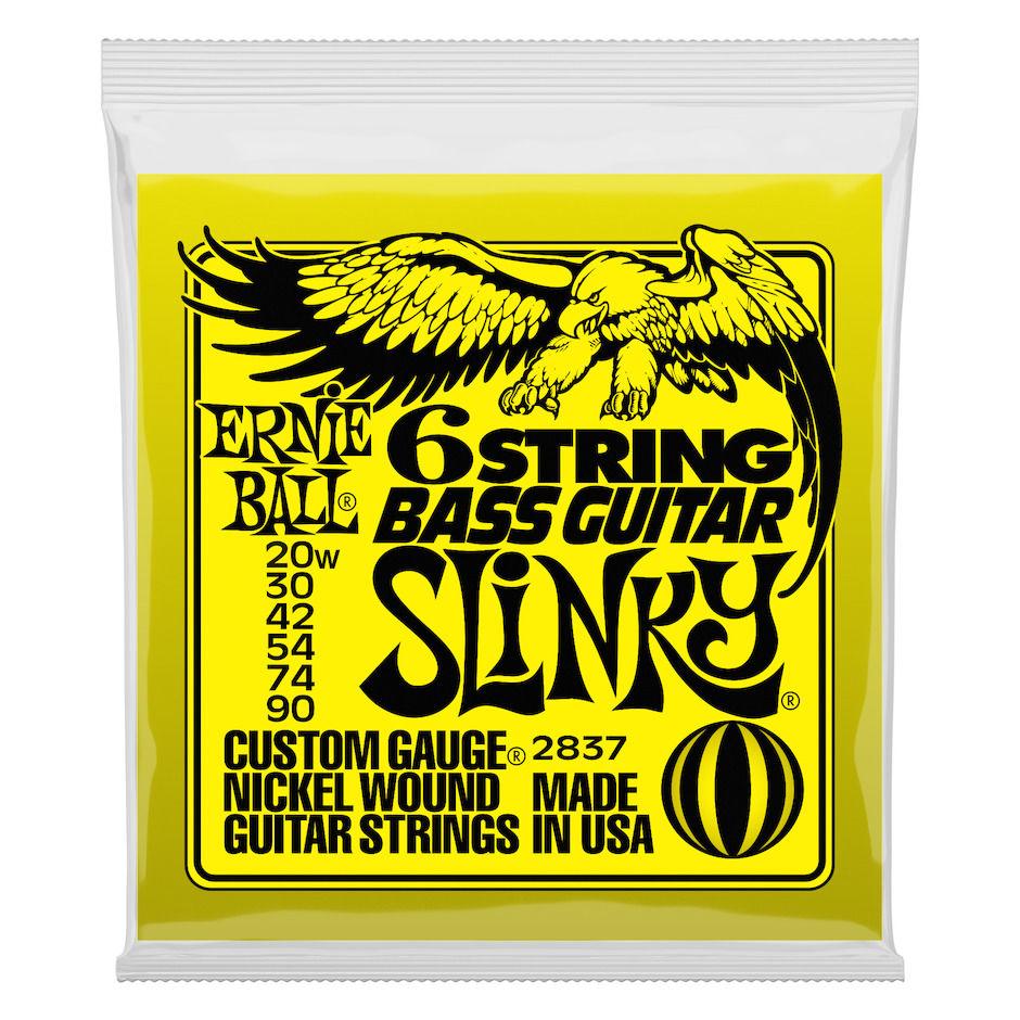 Ernie Ball EB-2837 6-STR Bass Guitar SL