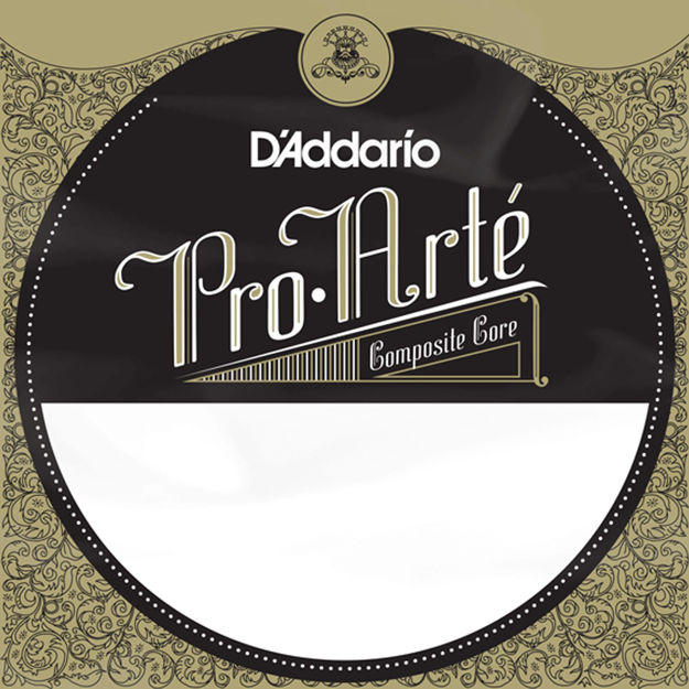 D'Addario J4403C Pro-Arte Composite Classical Guitar Single String, Extra-Hard Tension, Third String