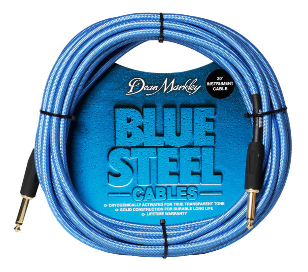 Dean Markley Blue Steel Cable 20FT STRAIGHT