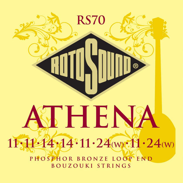 Rotosound RS70 Athena Bouzouki Set - Loop End