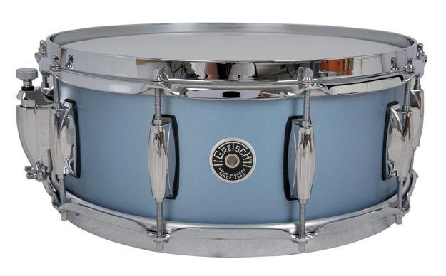 Gretsch Snare Drum USA Brooklyn - Satin Ice Blue Metallic