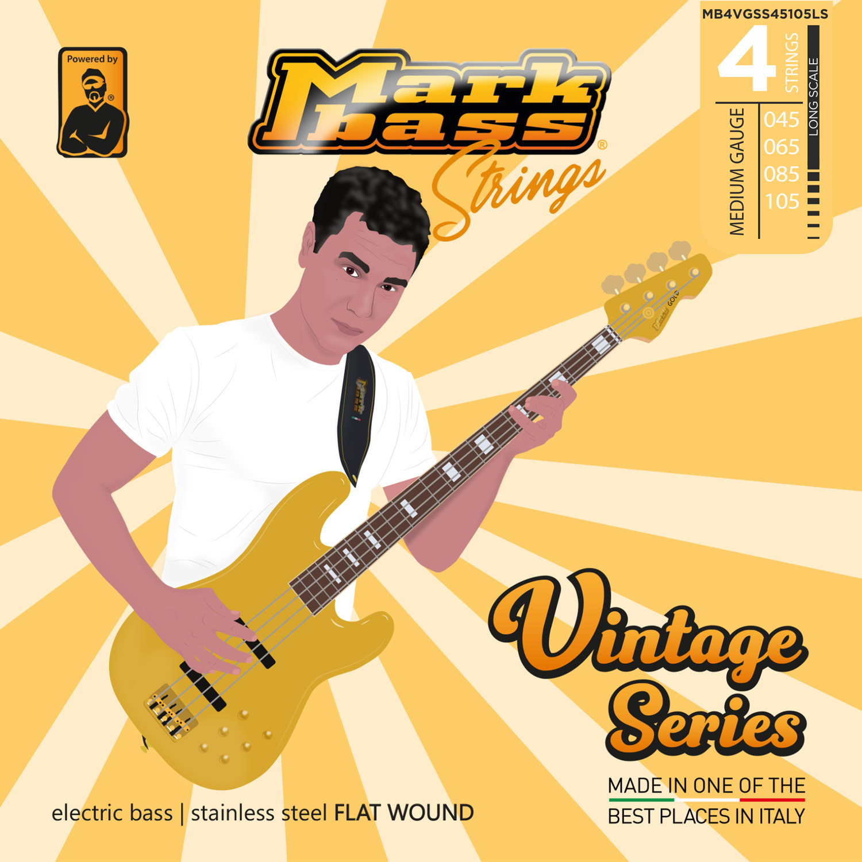MB STRINGS VINTAGE FLAT 045-105