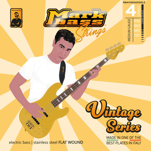 MB STRINGS VINTAGE FLAT 045-105