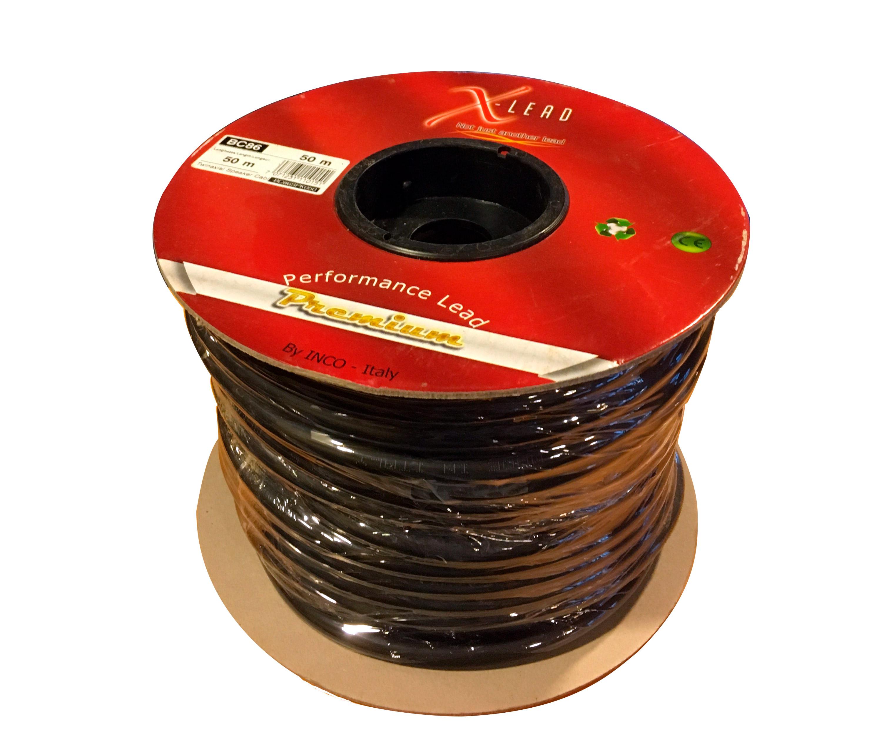 SAFECON BC86 50m 2,5 KV. Speaker cable