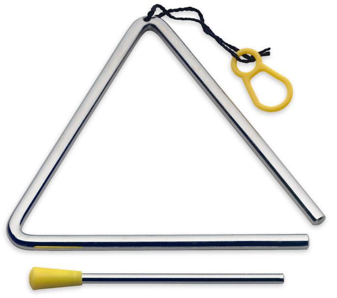 "STAGG TRI-6 triangel 6"""