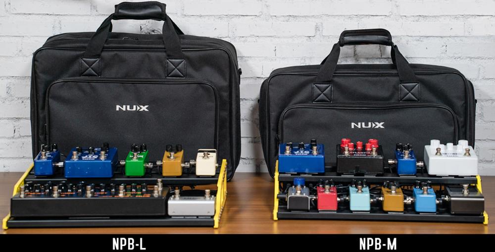 NUX NPB-L PEDALBOARD W/BAG