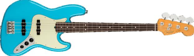 Fender American Professional II Jazz Bass®, Rosewood Fingerboard, Miami Blue