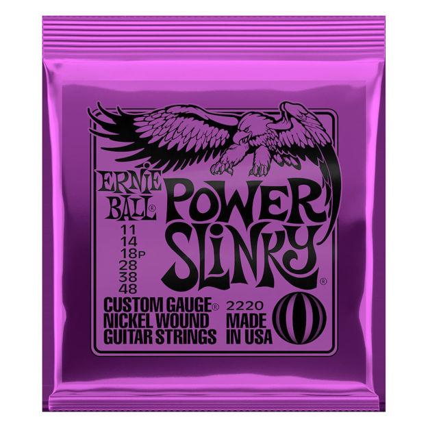 Ernie Ball EB-2220 Power Slinky Nickel
