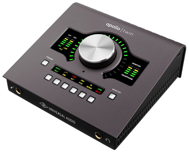 Universal Audio Apollo TWIN mk2, DUO x2 DSP