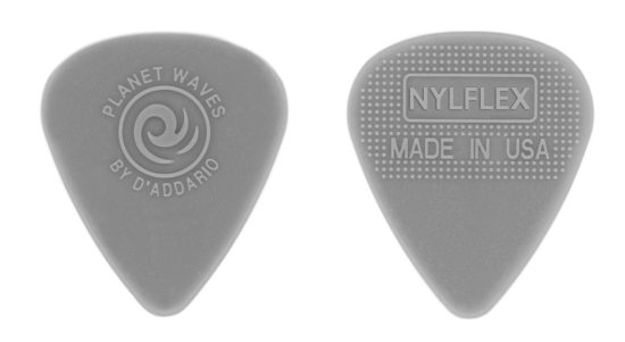 D'Addario Nylflex Guitar Picks, 25 pack, Medium