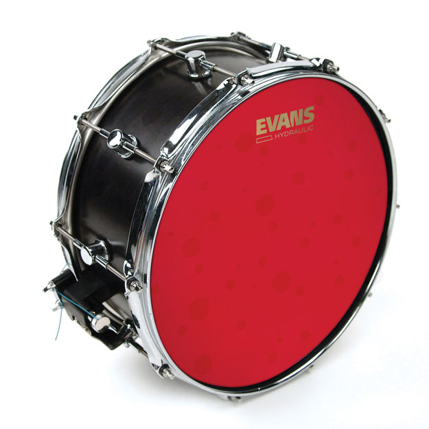 Evans Hydraulic Red Coated Snare Batter , 14 inch
