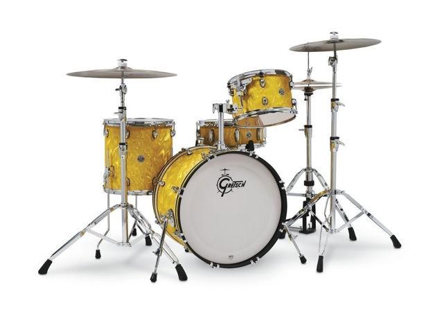 Gretsch shell set Catalina Club - Yellow Satin Flame