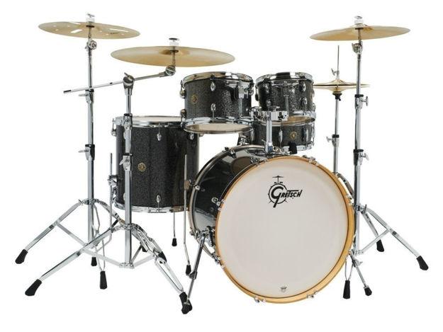 Gretsch shell set Catalina Maple - Black Stardust