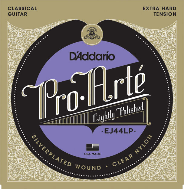D'Addario EJ44LP Pro-Arte Composite Classical Guitar Strings, Extra-Hard Tension