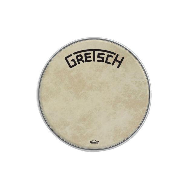 "Gretsch Bassdrum head Fiberskyn - 18"""