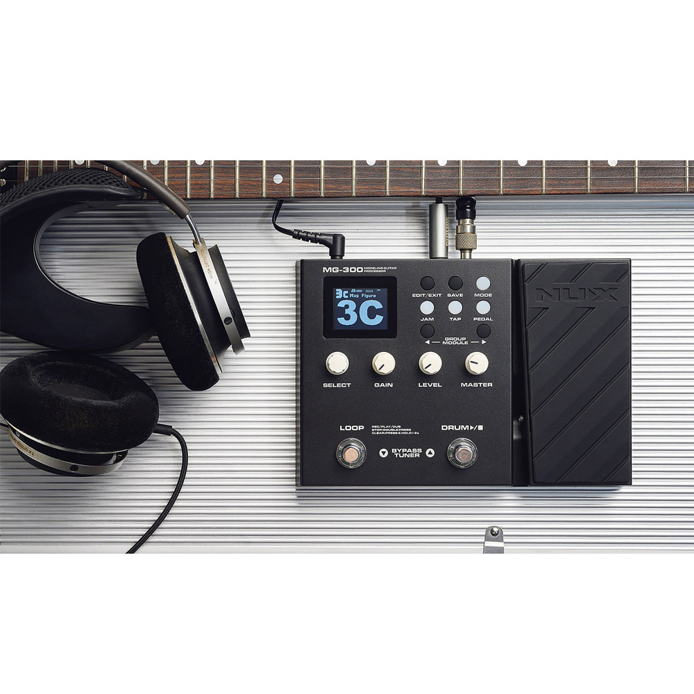 NUX MG-300 Modeling Guitar Processor