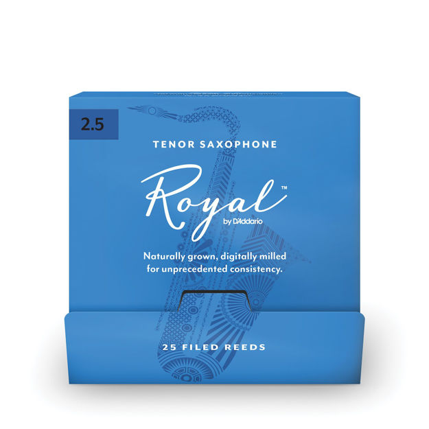 Royal by D'Addario Tenor Saxophone Reeds, #3.0, 25-Count Single Reeds