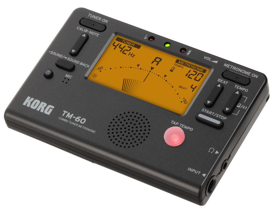 KORG Tm60-Bk Tuner / Metronome