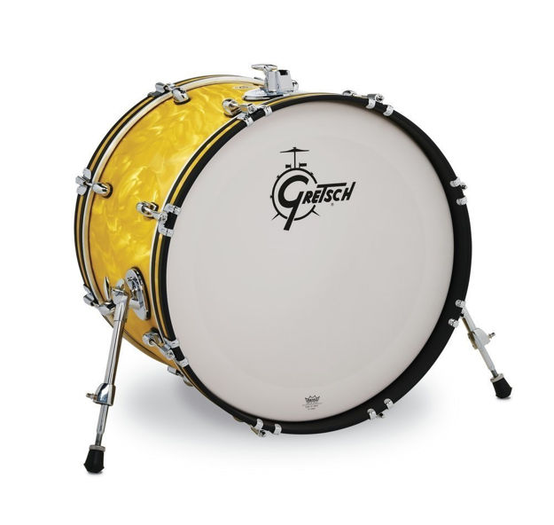 Gretsch Bass Drum Catalina Club - Yellow Satin Flame