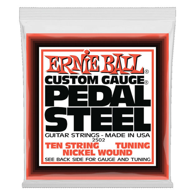 Ernie Ball EB-2502 NICKEL E9 Pedal Steel