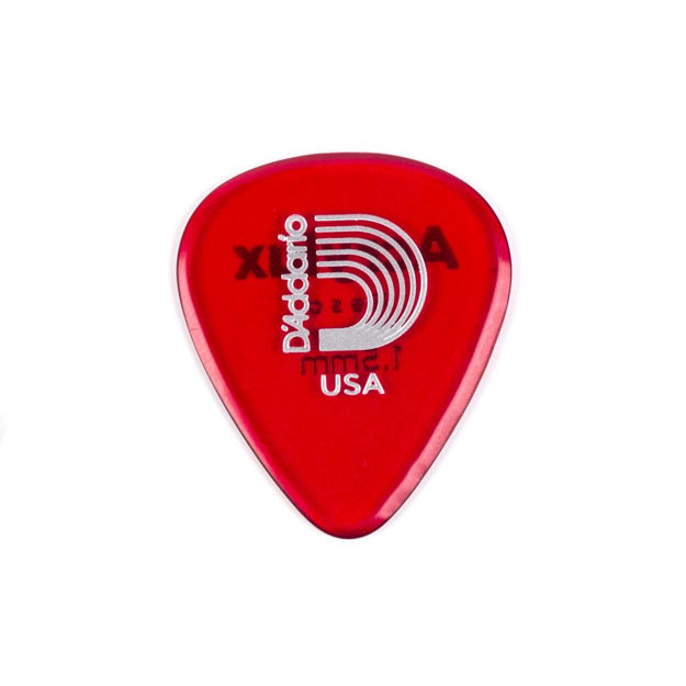 D'Addario Acrylux Reso Guitar Picks 1.5MM, Standard, 3-pack