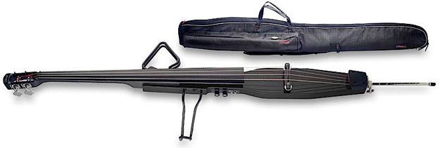 STAGG EDB 3/4 BK Elektrisk kontrabass