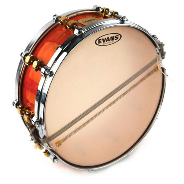 Evans Orchestral 200 Clear Snare Side Drum Head, 14 Inch