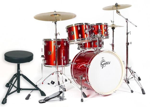 Gretsch Drum set Energy - Red