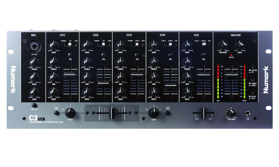 Numark C3 USB RACK Mixer