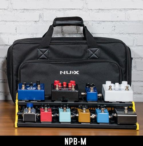 NUX NPB-M PEDALBOARD W/BAG