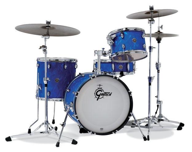 Gretsch shell set Catalina Club - Blue Satin Flame