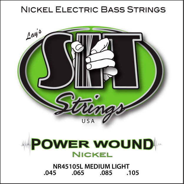 SIT BASS Powerwound Nickel Medium Light NR45105L