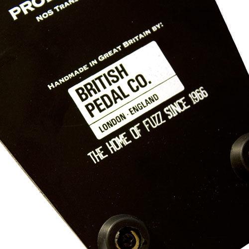 British Pedal Company Professional MKII Tone Bender OC75 Vintage Series