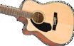 Fender CC-60SCE Concert, Left-handed
