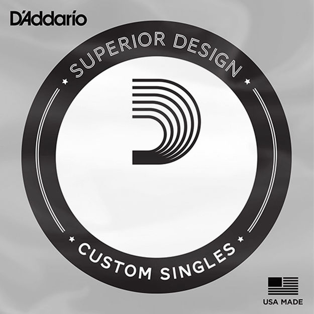 D'Addario CG026 Flat Wound Electric Guitar Single String, .026