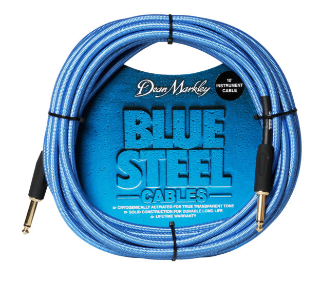 Dean Markley Blue Steel Cable 10FT STRAIGHT