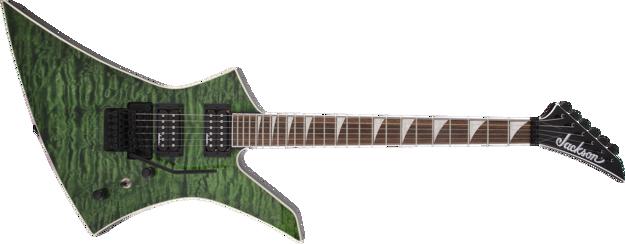 Jackson X Series Kelly™ KEXQ, Laurel Fingerboard, Transparent Green
