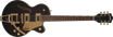Gretsch G5655TG Electromatic® Center Block Jr. Single-Cut with Bigsby® and Gold Hardware, Laurel Fingerboard, Black Gold