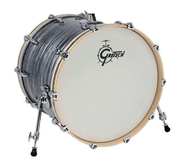 Gretsch Bass Drum Renown Maple - Silver Oyster Pearl