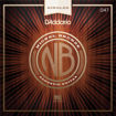 D'Addario NB047 Nickel Bronze Wound Acoustic Guitar Single String, .047