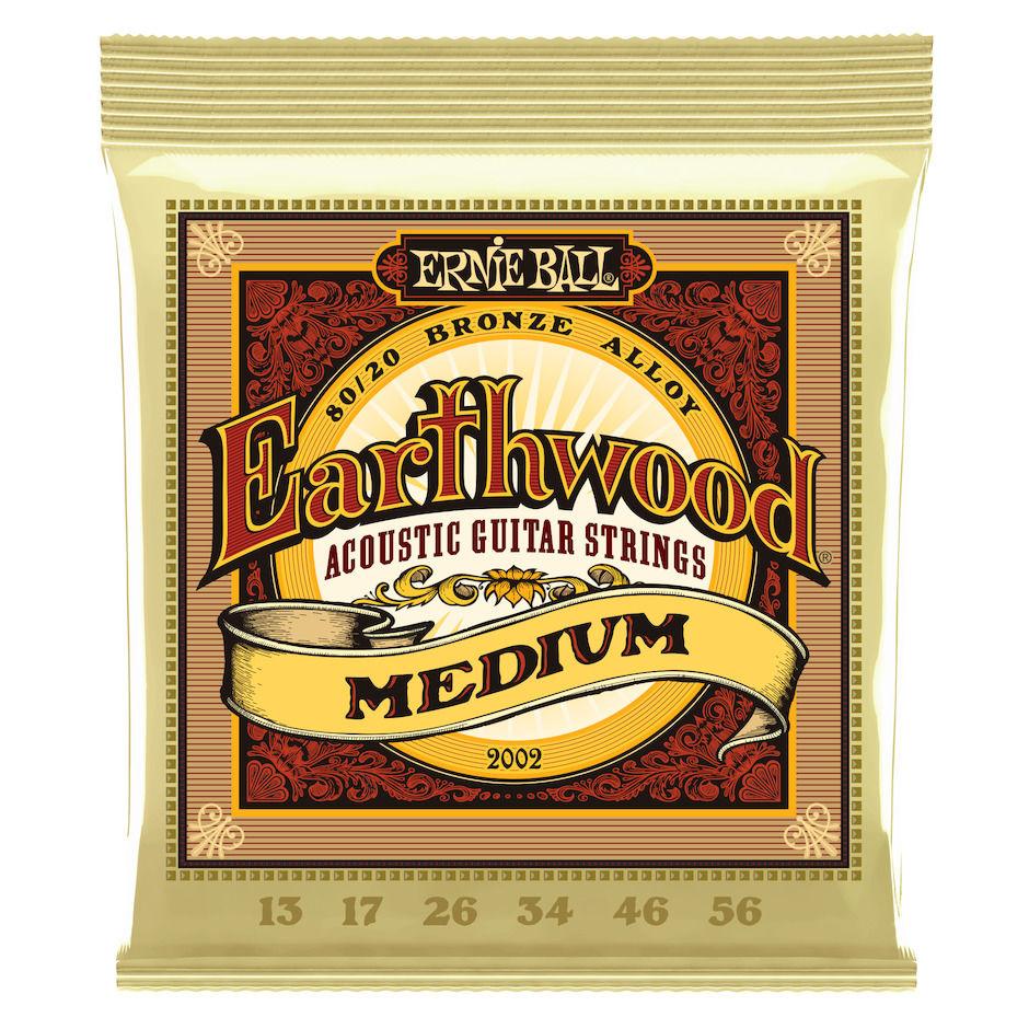 Ernie Ball EB-2002 Earthwood MEDIUM