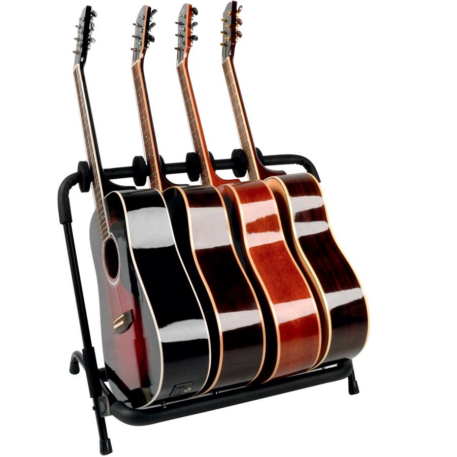 Quik Lok GS 350 gitarstativ for 6 gitarer