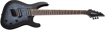 Jackson X Series Soloist™ Arch Top SLATX7Q MS, Laurel Fingerboard, Multi-Scale, Transparent Blue Burst