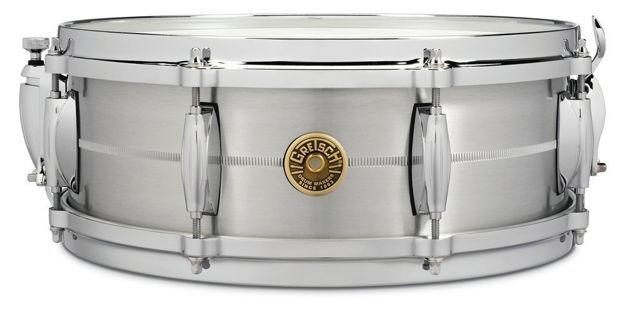 "Gretsch Snare Drum USA - 14"" x 5"" Solid Aluminum"