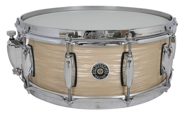 Gretsch Snare Drum USA Brooklyn - Cream Oyster