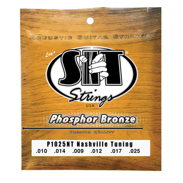 SIT AC Phos Bronze Nashvill tuning P1025NT