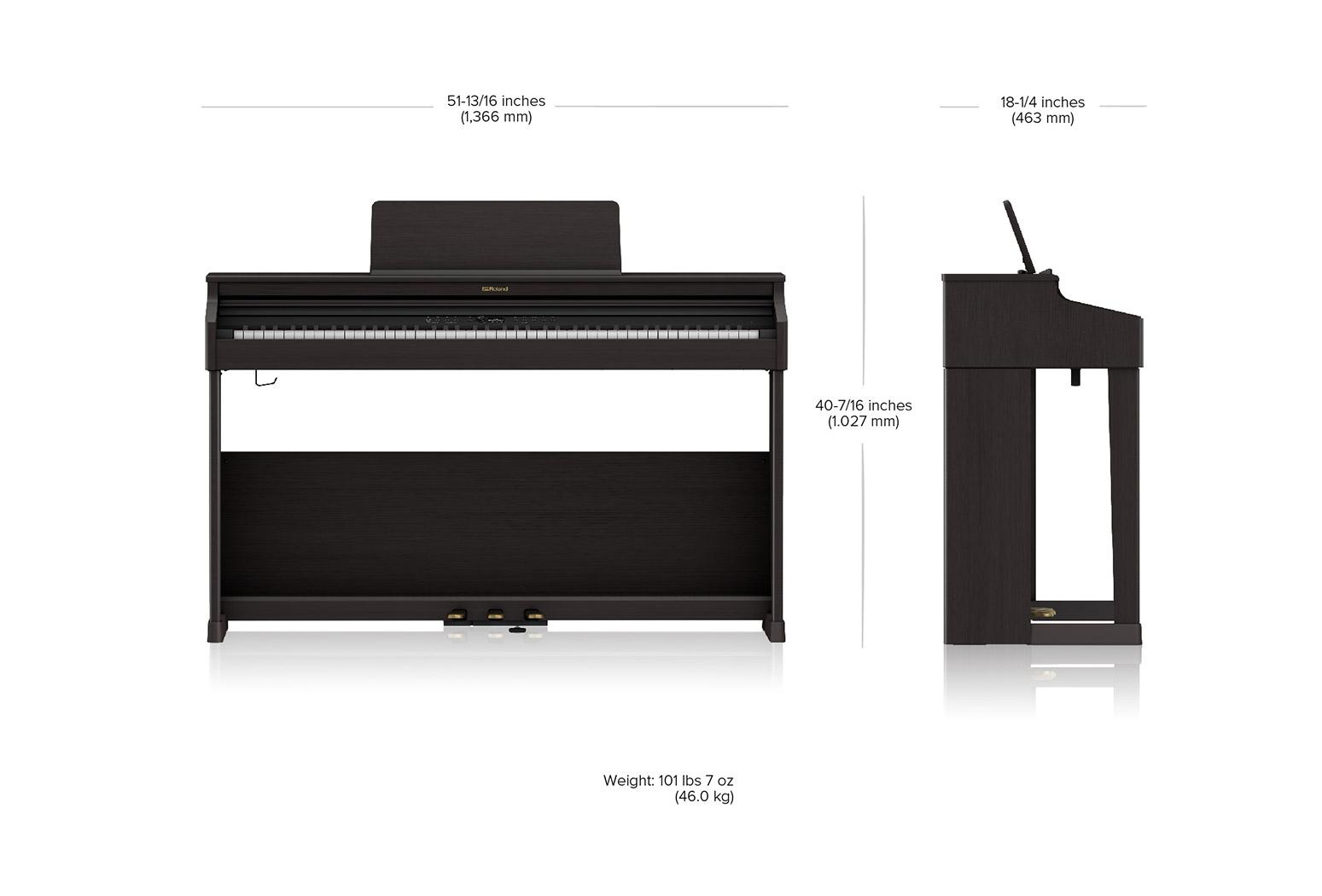 Roland RP701-CB Digital Piano