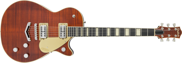 Gretsch G6228FM Players Edition Jet™ BT with V-Stoptail and Flame Maple