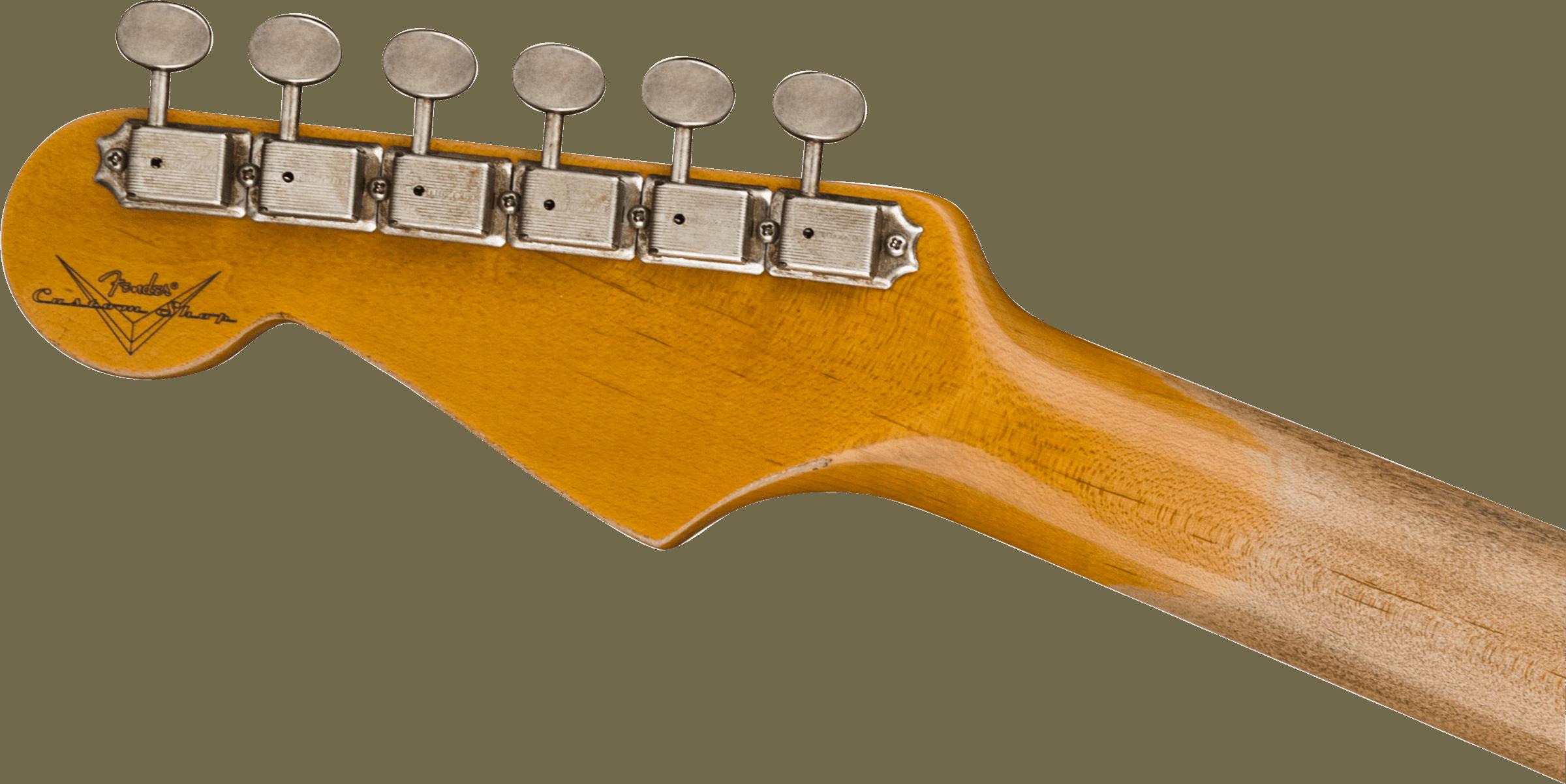Fender Custom Shop 1960 Stratocaster® Heavy Relic®, Rosewood Fingerboard, Faded Aged 3-Color Sunburst